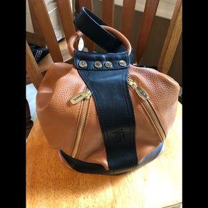 Valentina pure leather 2 way shoulder/backpack